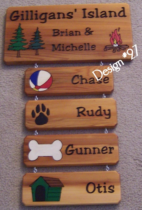 3d Wooden Photos Signs Examples Of Wooden Cedar Signs